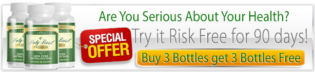 Try Holy Basil RISK FREE For 90 days!